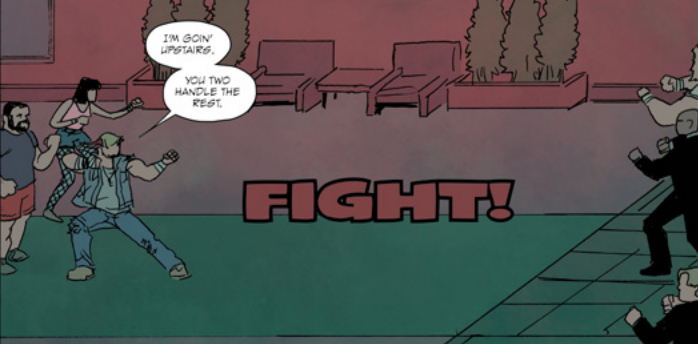 Image taken from BURN THE OPRHANAGE #1.