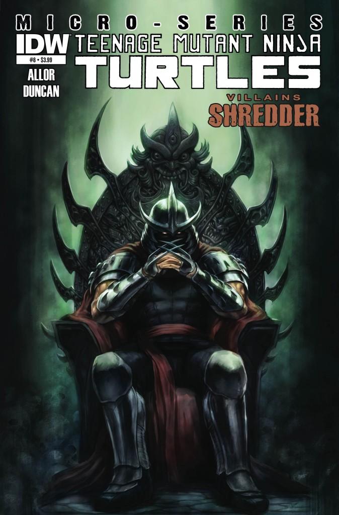 Do you think Shredder should have won? Get your elaboration on below.