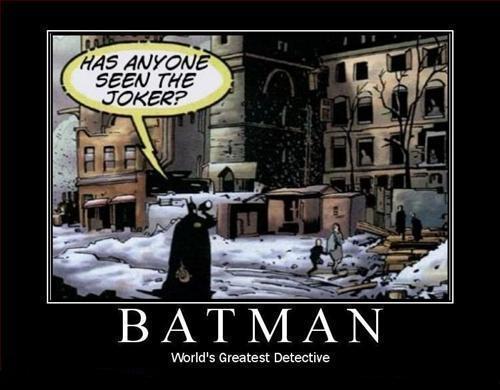 He's Batman, get over it.