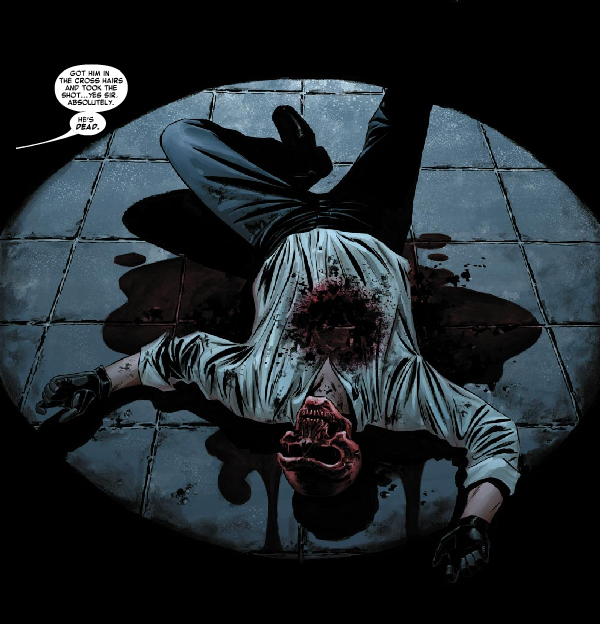 Facing another death, Red Skull was far from being finished after transferring his consciousness into the Cosmic Cube.