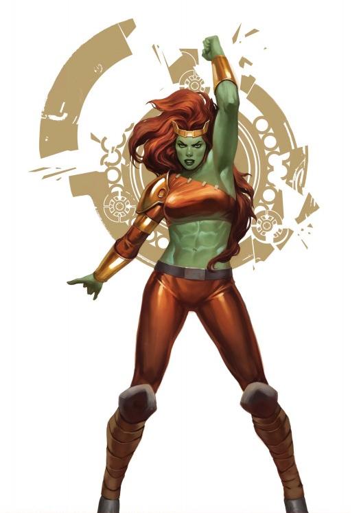 Lyra - Daughter of Thundra and the Hulk