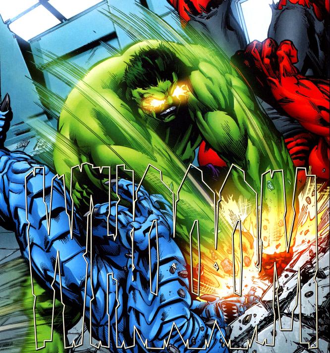 Cosmic Hulk during Fall of the Hulks