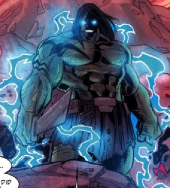 Skaar utilizing the Old Power