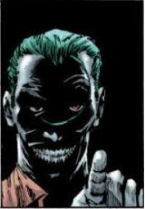 The Joker's warning to Batman