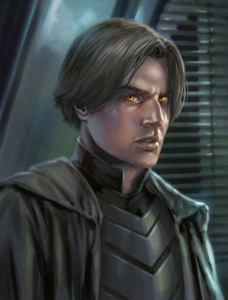 Darth Caedus - the first Sith Lord that Kyle ever fought