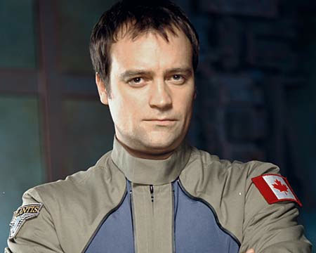 McKay in his Atlantis uniform