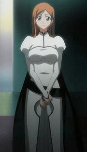 Inoue in Arrancar robes