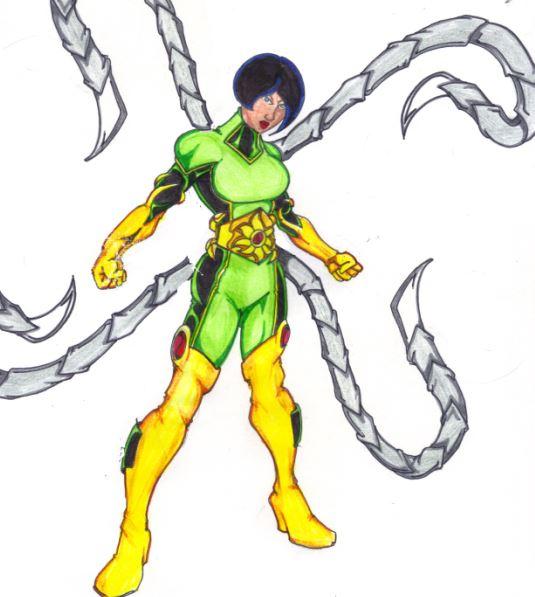 Wonder Woman Donna Troy + Doctor Octopus = Lady Kraken