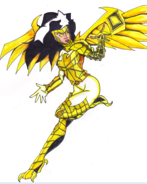 Stan Lee's Just Imagine Wonder Woman + The Vulture = The Eagle