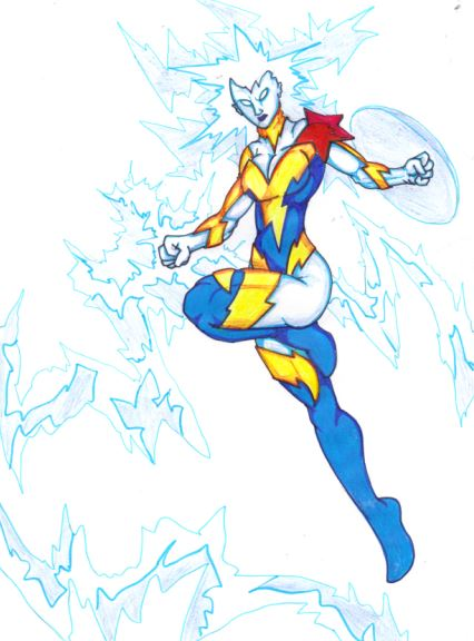 Wonder Woman 1,000,000,000 + Electro = Elektra