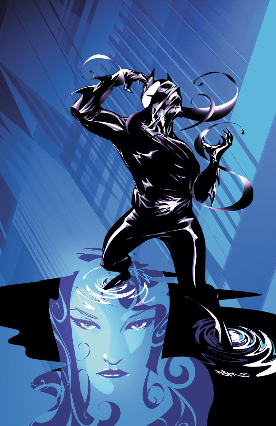 Batman Beyond #8 cover by Dustin Nguyen