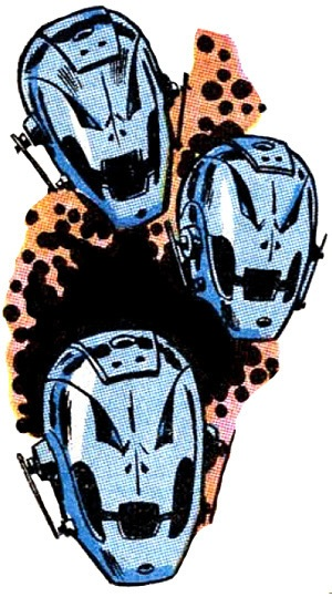 Ultron's many incarnations.