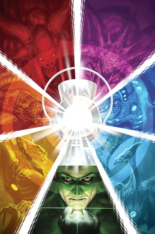 Hal Jordan just fits right in