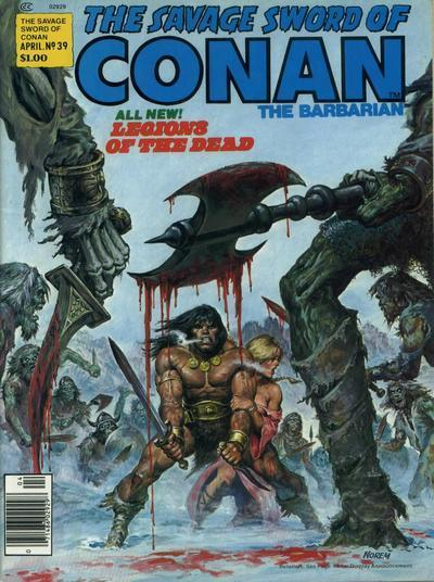 'Legions of the Dead' offers an alternate version of Conan's enslavement.