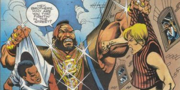 We pity the fools who don't see how this is one of the greatest moments in comics.