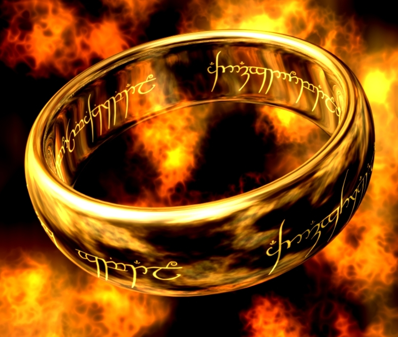 The One Ring, forged by Sauron to control the other Rings of power.
