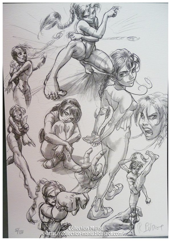 Sketches of Navee by Philippe Buchet