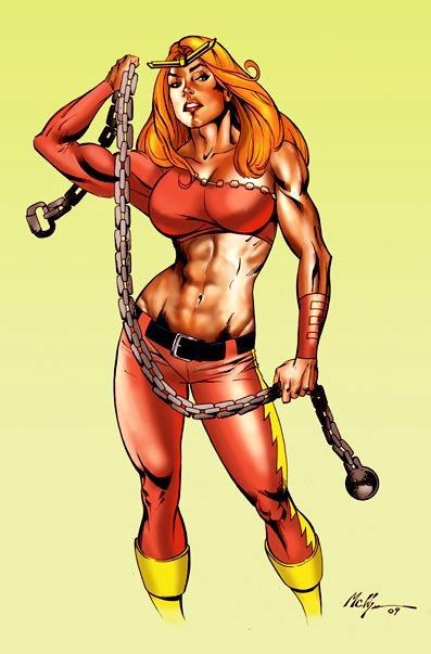 Thundra - Marvel's true strongwoman