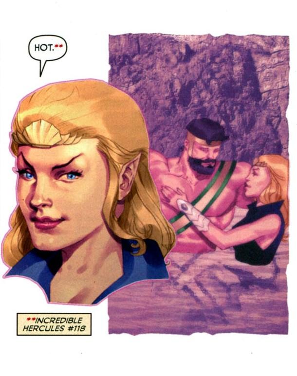 Namora remembers Hercules