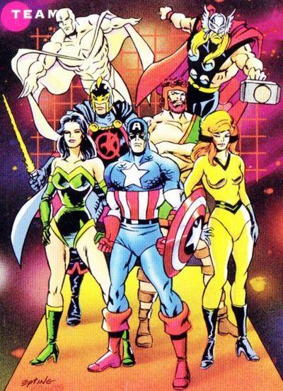 Sersi's Avengers line-up