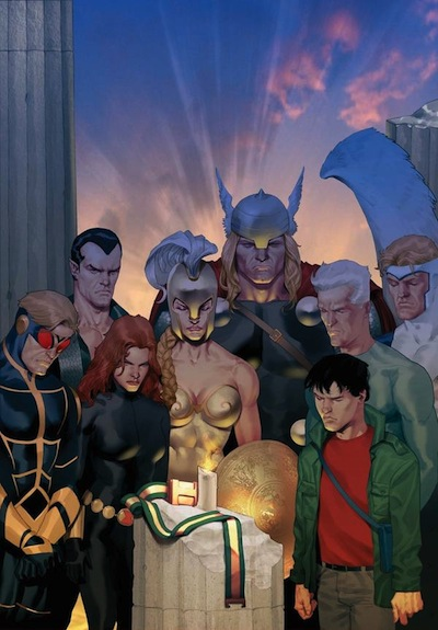 Heroes & Friends gather to mourn Hercules