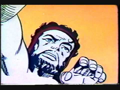 Hercules - The animated version from 1960's Thor cartoon.