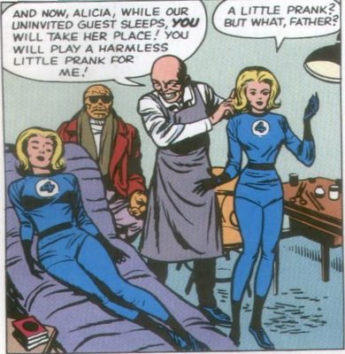 Puppet Master replaces Sue with Alicia