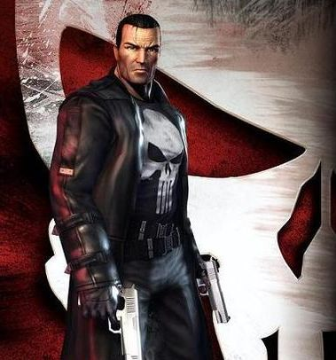 The Punisher as he appears in his own video game