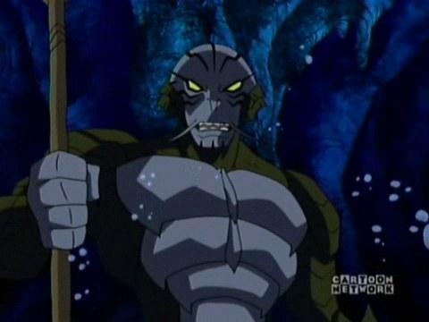 Trident in Teen Titans TV series.