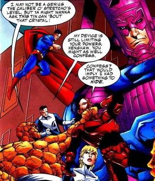 Fantastic Four and Superman