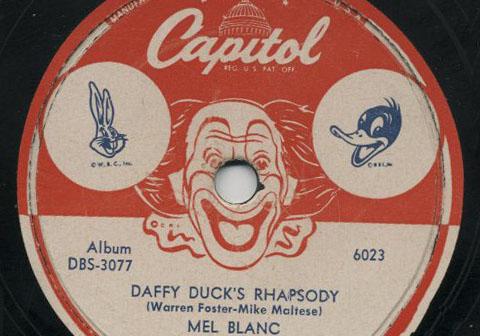 Daffy Duck Rhapsody Record
