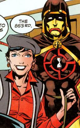 Hourman and Wendi Harris