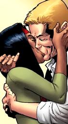 Sam and Dani kiss