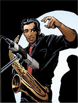 Jack as a Jazz Musician.