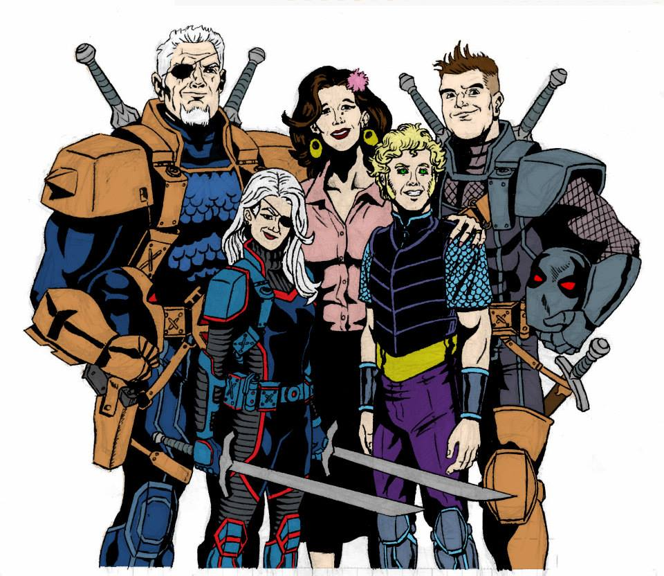 New 52 Slade and the Family Wilson