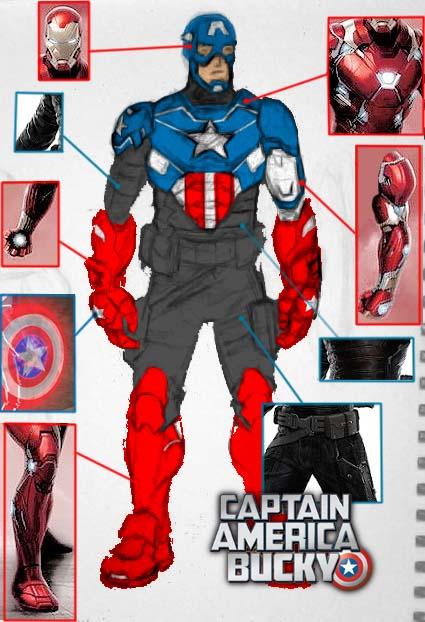 WIP Captain America/Bucky movie concept art blueprint