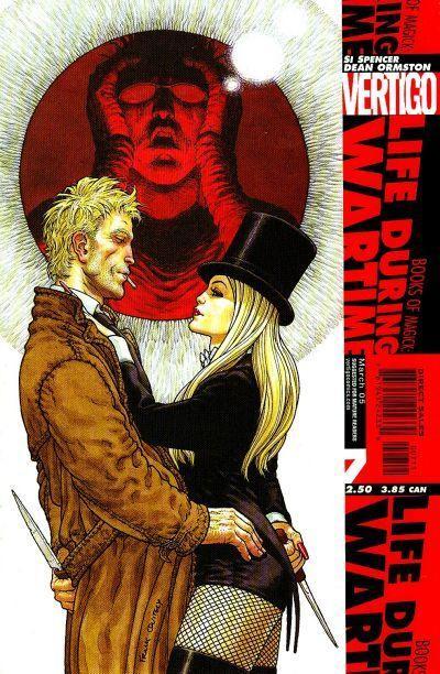 Lord Constantine and alternate Zatanna