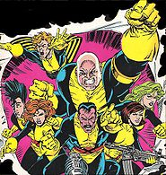 Muir Island X-Men
