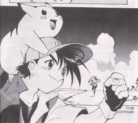 Ash and Pikachu from 'Electric Tale of Pikachu'