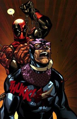 Deadpool vs Bullseye
