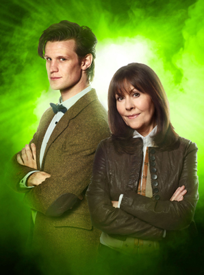 Sarah and the Eleventh Doctor