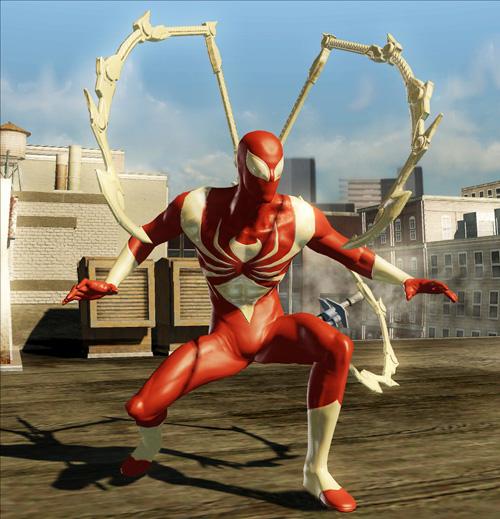 MUA2 Spider-Man Alternate Costume