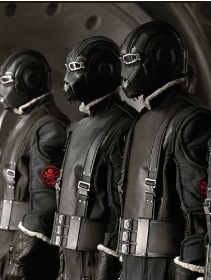 HYDRA soldiers in the film