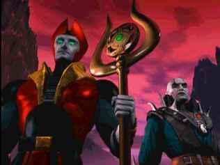 Shinnok and quan-chi