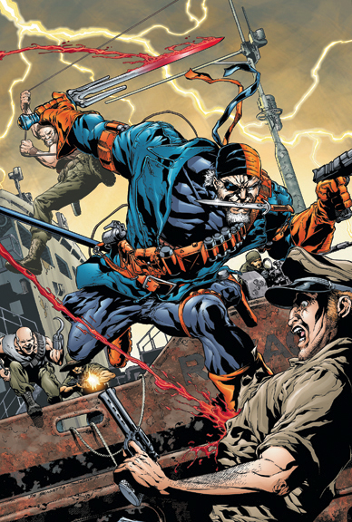 Deathstroke & the Curse of the Ravager