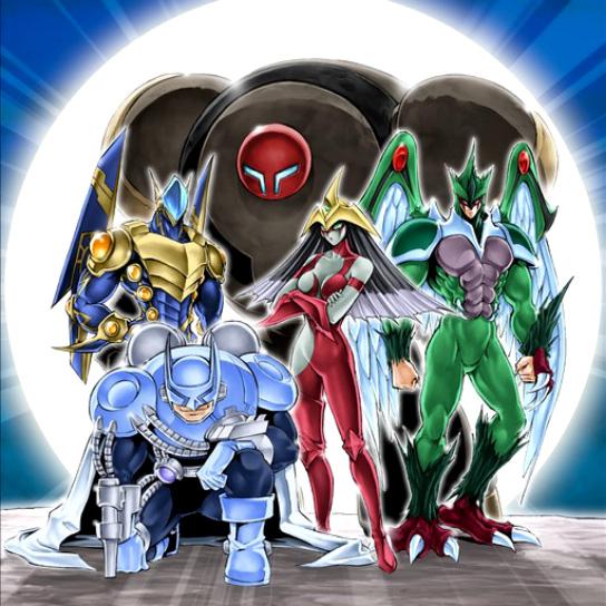 The Elemental Heroes