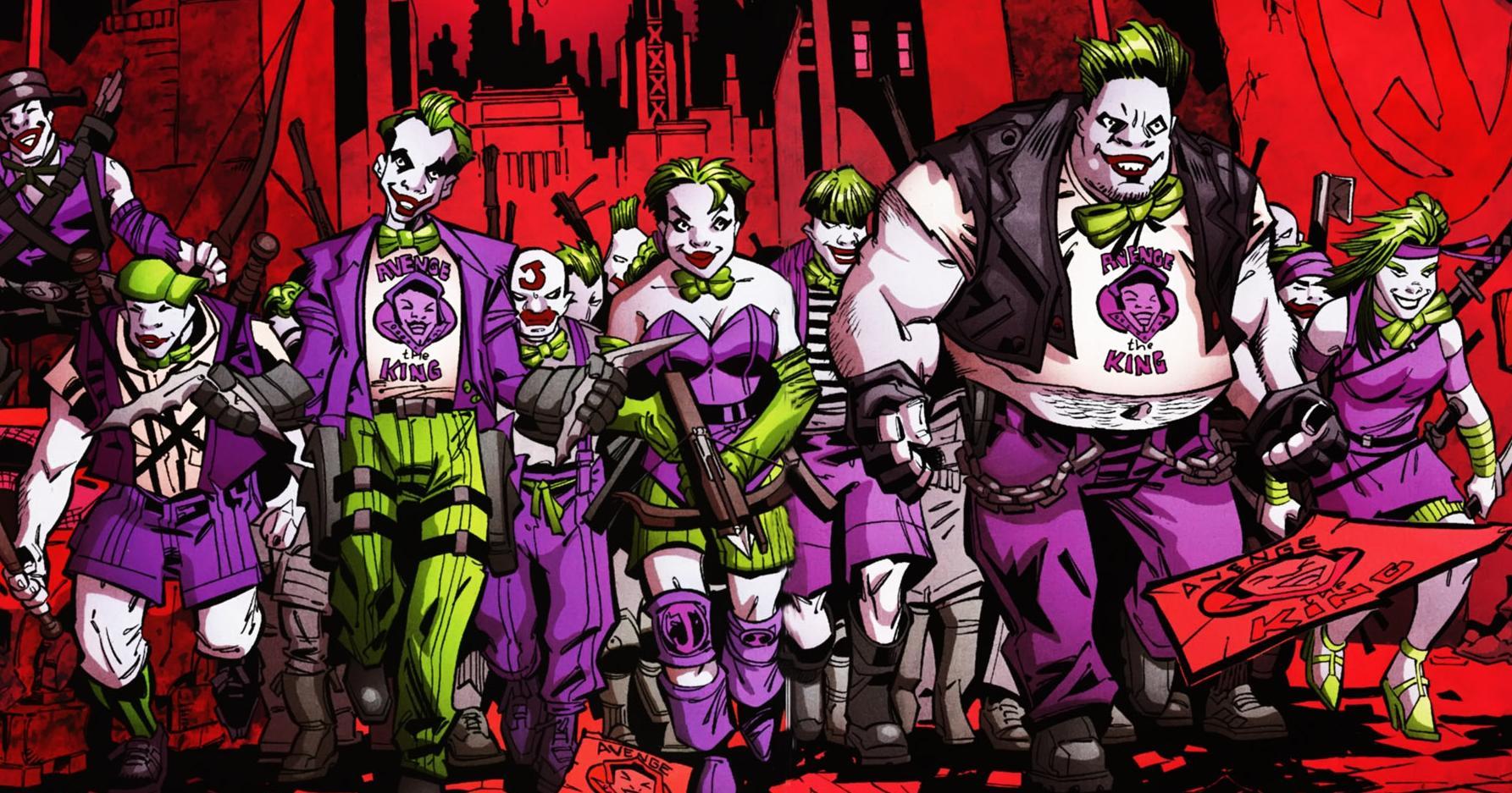 Batman Lost in DC-Earth 2050 - Jericho 1386488-jokerz