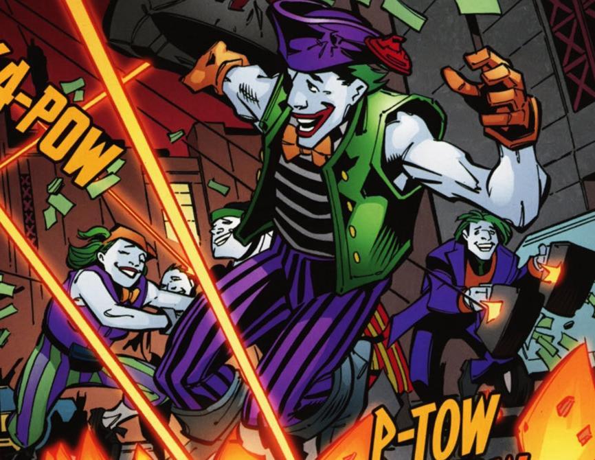 Batman Lost in DC-Earth 2050 - Jericho 1386492-jokerz4