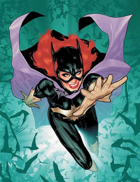 Batgirl #1 cover - Adam Hughes