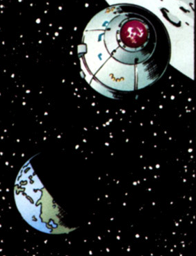 Lord Death Man... IN SPACE
